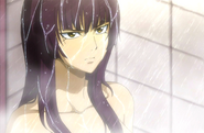 Kagura in shower