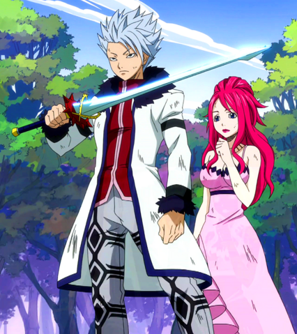 File:Lyon grabs Erza's sword.png