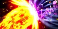 Fairy Tail, Lyon Vastia, Byro Cracy & Dan Straight vs. Reborn Oración Seis