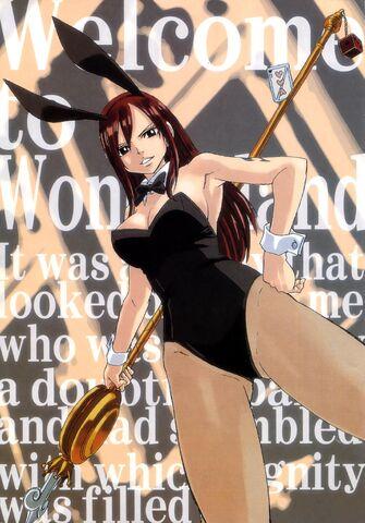 File:Erza bunny suit.jpg