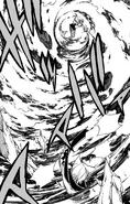 Jackal is swept away by Aquarius