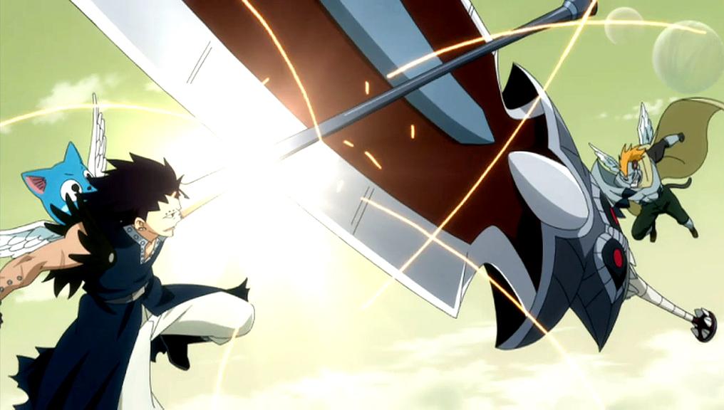Pantherlily Fairy Tail Midair battle