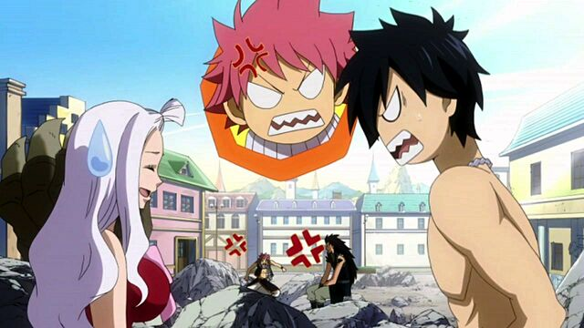 File:Natsu and Gray argue.JPG