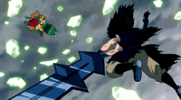 Gajeel beats Gutman