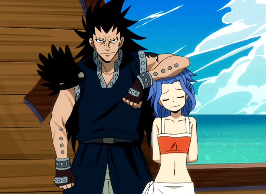 Fairy Tail Levy And Gajeel Kiss Levy and Gajeel