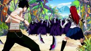 Deliora Survivors find Fairy Tail