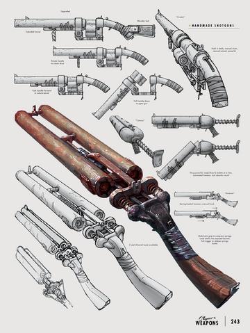 File:Fo4 shotguns concept art.png