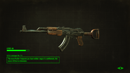 Raider Posts Handmade Rifle Loading Screen