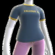 Fallout 3 Ringer Shirt F