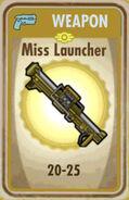 FoS Miss Launcher Card