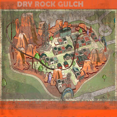 NW Park Map Dry Rock Gulch
