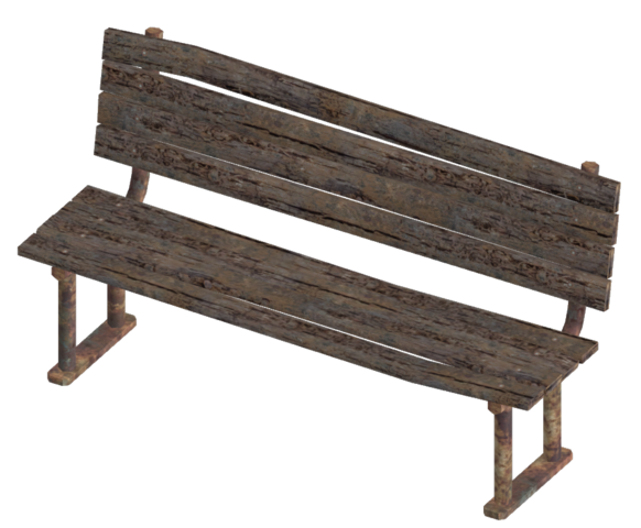 File:Wooden bench.png