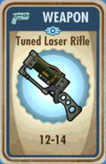 FoS Tuned Laser Rifle Card