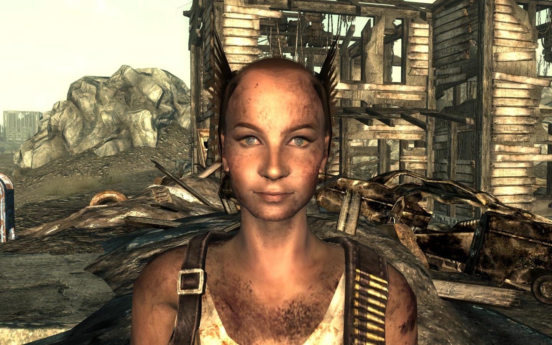 Fallout new vegas как поменять прическу