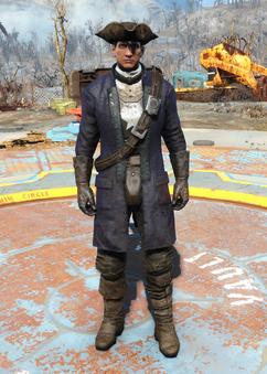 Fo4Minutemen General's Uniform