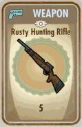 Fos Rusty Hunting Rifle Card