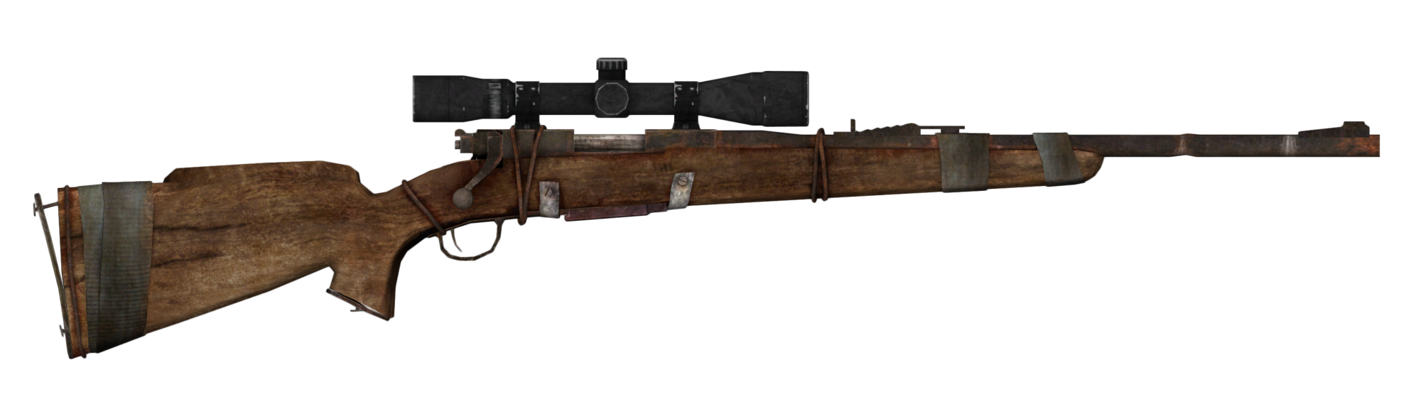 Boone's scoped hunting rifle | Fallout Wiki | FANDOM powered by Wikia