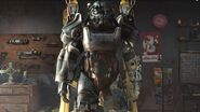 Power Armor Station in FO4 Trailer