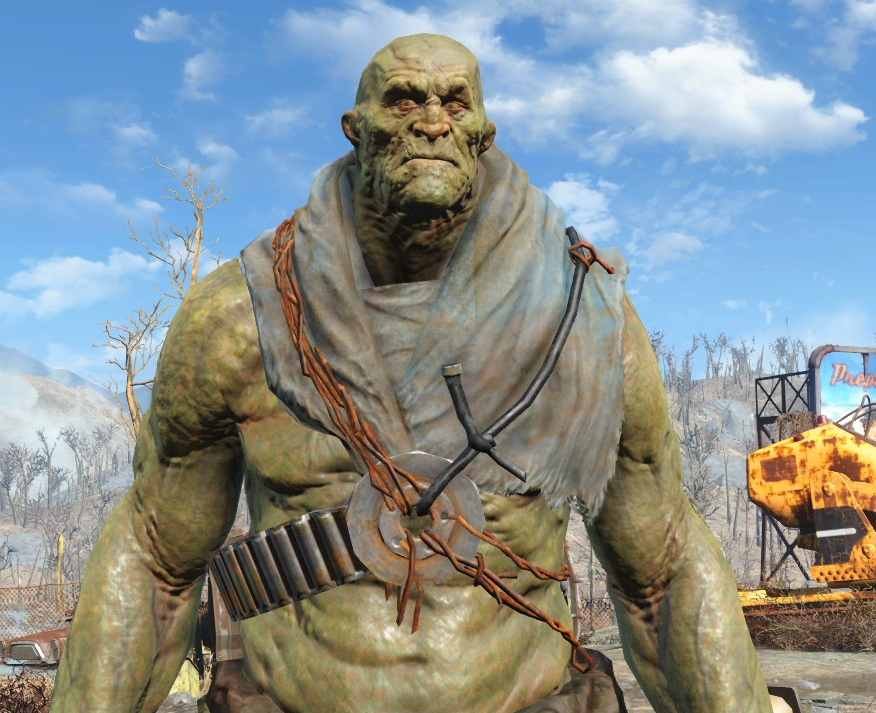 Super Mutant Shoulder Rags Fallout Wiki Fandom Powered