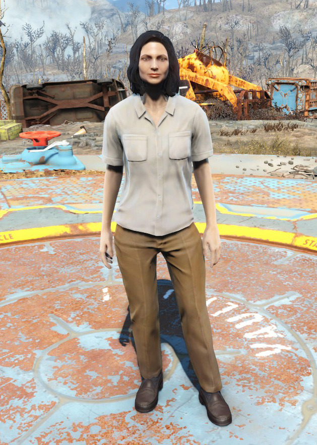 Red dress fallout 4 21