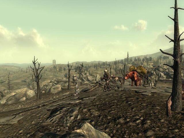 File:Fallout3 BrokenSteel WaterCaravan Wasteland01 ThX.jpg