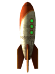 Rocket souvenir