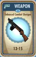 FoS Enhanced Combat Shotgun Card
