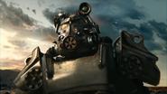 T-60 power armor Wanderer trailer