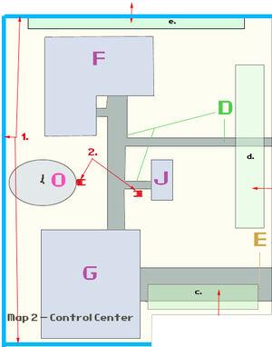 VB DD15 map Control Center