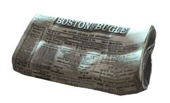 Late edition newspaper