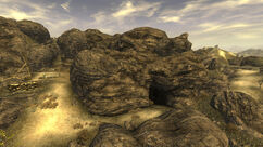 CG cave exterior