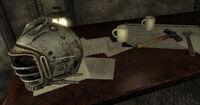 Taft Tunnel Eyebot helmet