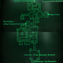 Fo3 National Archives SW East map
