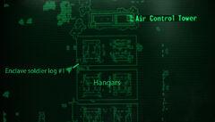 Fo3BS Enclave soldier log loc