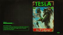 FO4 Tesla loading screen