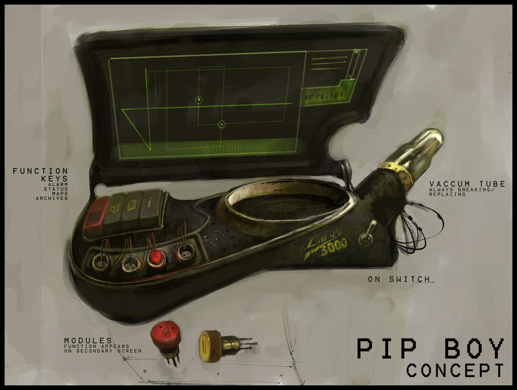 Show And Tell Time My Home Made Pipboy 2500 Prop Project Fallout