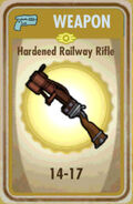 FoS Hardened Railway Rifle Card