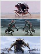 Mirelurk Fallout 4 art