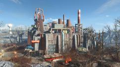 FO4 Saugus Ironworks