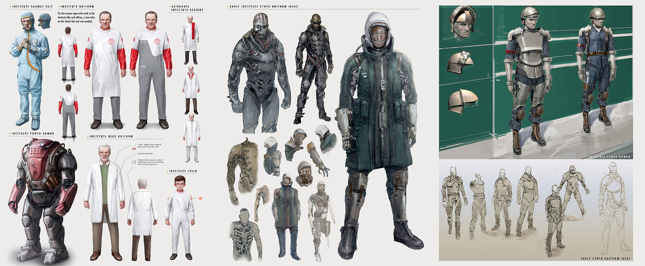 Image result for Institute concept art