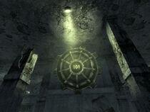 Vault-Tec HQ Vault 101 door