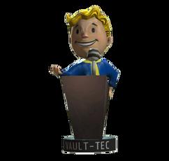 Speech-bobblehead