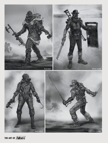 File:FO4 Art Raider Types.jpg