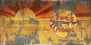 FO4NW Nuka-Cola Orange poster