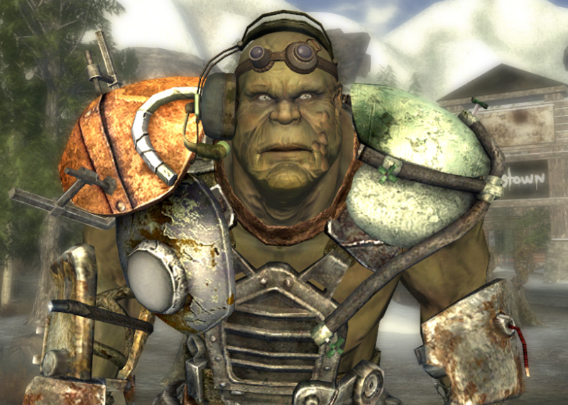 Why Do Super Mutants Ghouls And Humans Look Better In Fallout 1