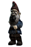 Fo4FH garden gnome destroyed