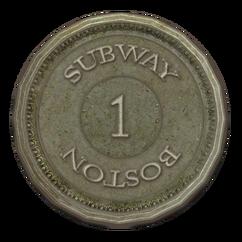 Subway token