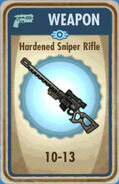 FoS Hardened Sniper Rifle Card