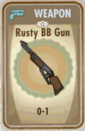 Fos Rusty BB Gun Card
