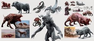 Fo4 creatures concept art